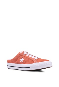 c09eb32ec83966 34% OFF Converse One Star Mule Sneakers RM 299.90 From RM 198.10 Sizes 4 5  6 7