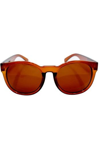 Maldives Eyewear brown G1026 Unisex Vance Sunglasses MA573GL17DWCPH_1