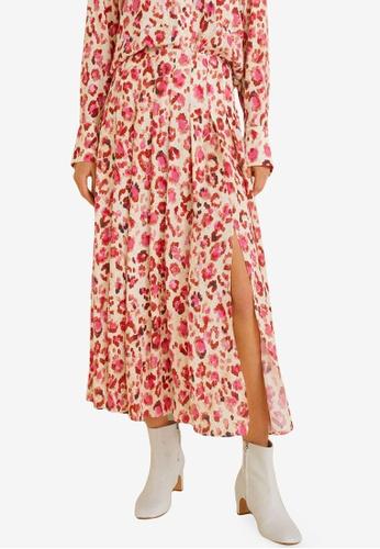 8c4ccd1c4 Shop Mango Printed Midi Skirt Online on ZALORA Philippines