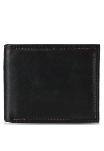 Burton Menswear London black Black Wallet And Key Ring Set BU964AC0SILLMY_1