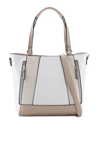 b096001a0fa0 Shop Dorothy Perkins Zip Detail Tote Bag Online on ZALORA Philippines