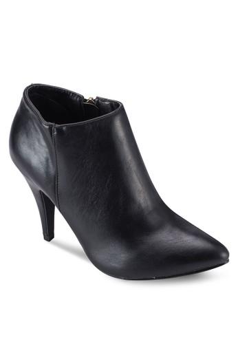 尖頭側拉鍊高esprit tote bag跟踝靴, 女鞋, 鞋