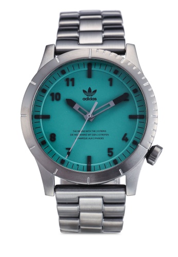 adidas grey and multi adidas originals Cypher M1 Watch 147A9ACE47A315GS_1