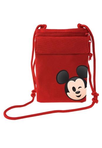 Disney Mickey red Disney Mickey Emoji Red Sling Bag 3C67BKCB4B6328GS_1