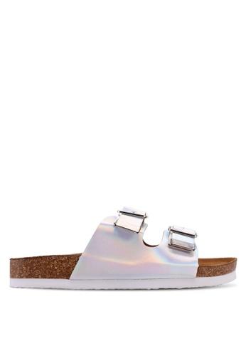 ONLY silver Mathilda Metallic Sandals 8A630SH10B5604GS_1