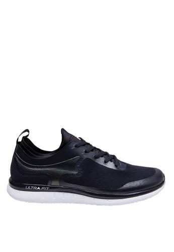 FILA black ULTRA FIT Sport Shoes FDB5BSHA7CBAD1GS_1
