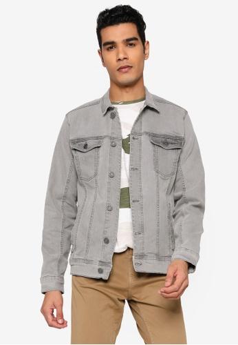 BLEND grey BHNARIL Basic Denim Jacket 3C8F5AA37A7A09GS_1