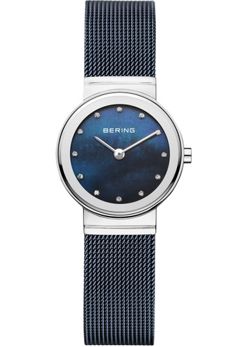 Bering blue and silver Bering Classic Blue 26 mm Women's Watch (10126-307) F34C7AC43E3A66GS_1