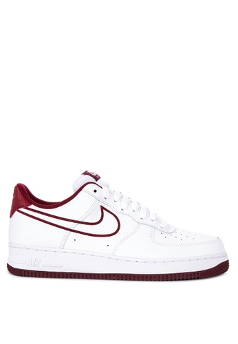 Nike white Nike Air Force 1 '07 Leather Shoes 3812CSHAAF2474GS_1