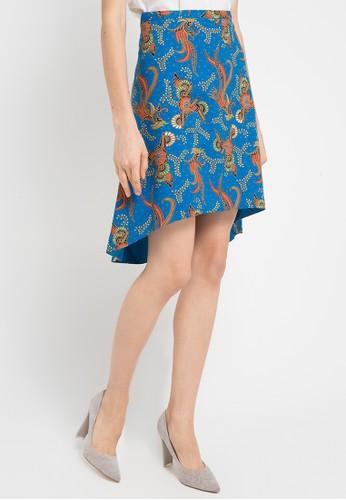 Batik Solo blue Regular Print Skirt BA657AA0WFM8ID 1 cf86b76adc