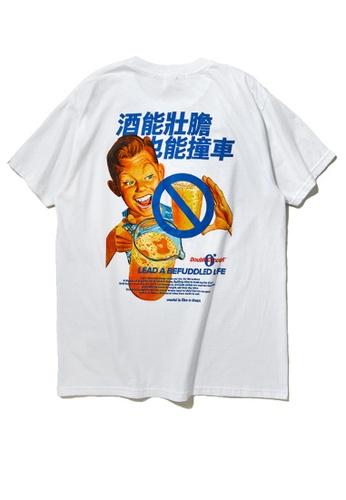 Twenty Eight Shoes BEER Series Printed Short T-Shirt 91900S E113AAA5570408GS_1