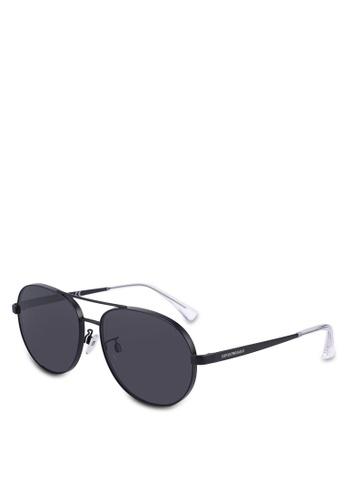 dc0767d9f0b Emporio Armani black Emporio Armani EA2074D Sunglasses 0B045GL5002E5BGS 1