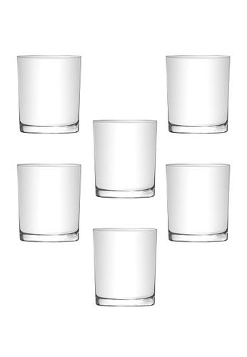 Union Glass n/a Thailand Premium Clear Glass Rock Glass Water, Juice, Soda, Liquor Glass 265ml - 9oz Set of 6 614FCHLF72B1DEGS_1