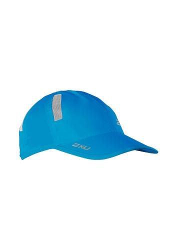 2XU blue Unisex Run Cap 2X697AC2VMJEHK_1