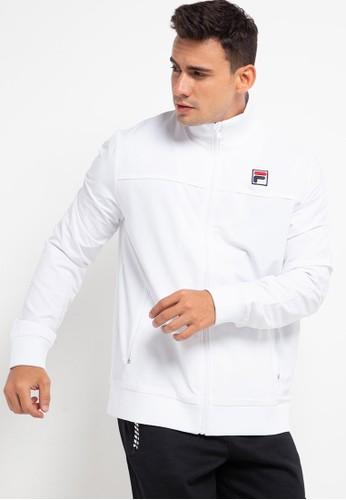 FILA white Wimbledon Jacket M 27E4EAA9448A62GS_1
