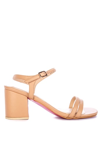 e4812933953 Shop CARMELLETES Strappy Sandals With Chunky Heels Online on ZALORA  Philippines