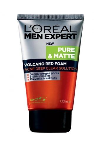 L'Oréal Paris L'Oreal Men Expert Pure & Matte Volcano Foam 100ml A3579BE4982605GS_1