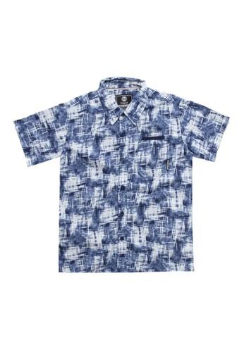 Spyderbilt navy Sufasor Kids Shirt CECBDKAE0E71BAGS_1