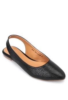 Geline Flat Sandals