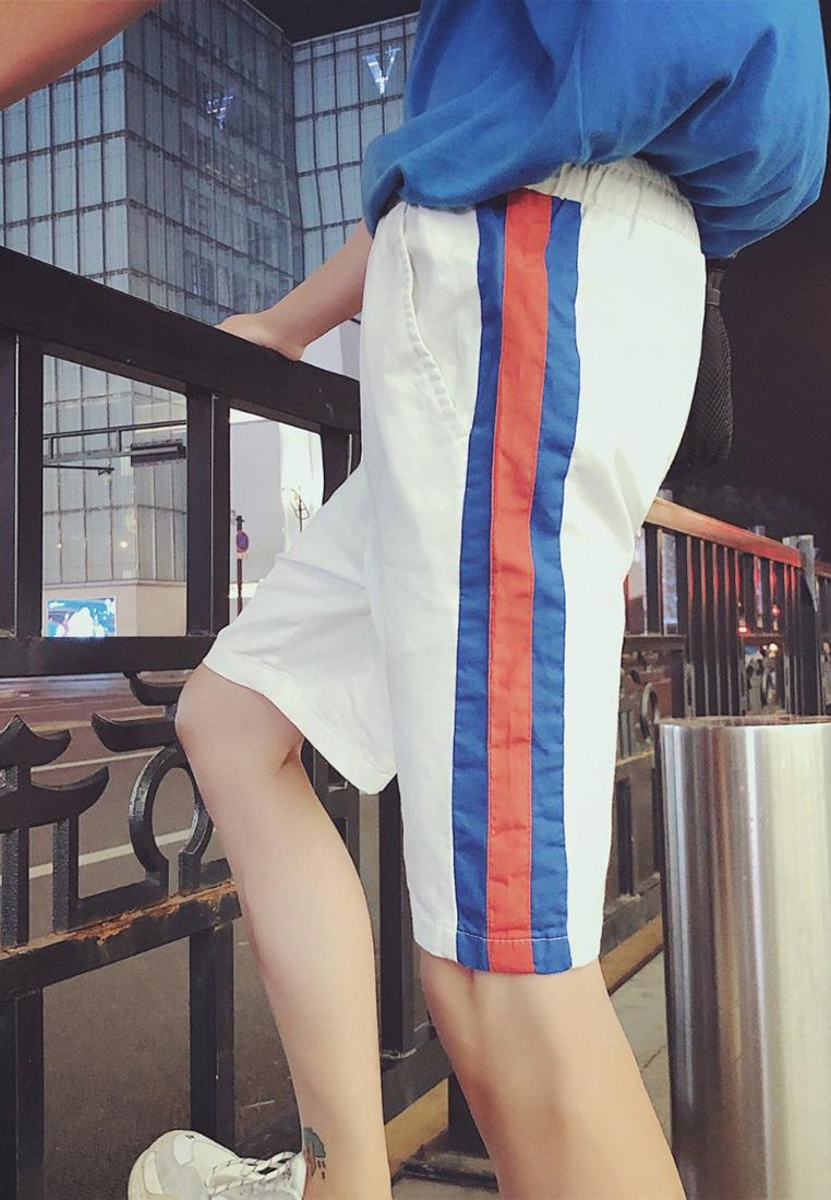 white Waist hk Men Elastic Shorts ehunter FnXg1wpq0
