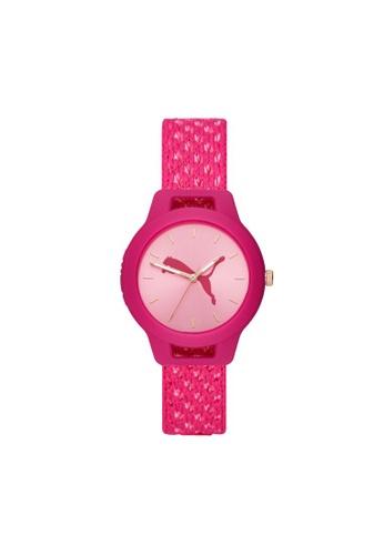PUMA pink Reset V1 Watch P1039 7D483ACD06F6C4GS_1