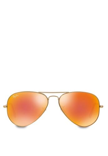 b58d071a83b Buy Ray-Ban Aviator Large Metal RB3025 Sunglasses Online on ZALORA ...