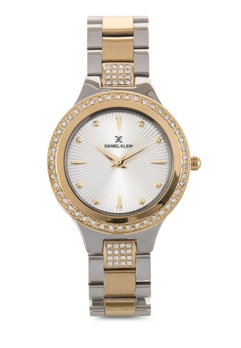 36mm DKzalora 台灣門市11160-5 晶石點綴接鏈圓錶, 錶類, 飾品配件