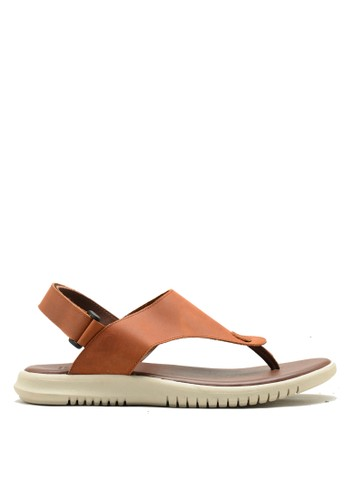 Brodo brown BRODO - Sandal Pria Aru Vintage Brown 22111SH380EA64GS_1
