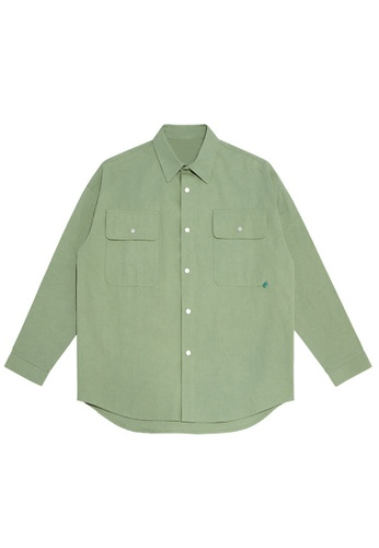 Twenty Eight Shoes Overshirt With Pockets 2092W20 CED7CAA9D1DF8AGS_1
