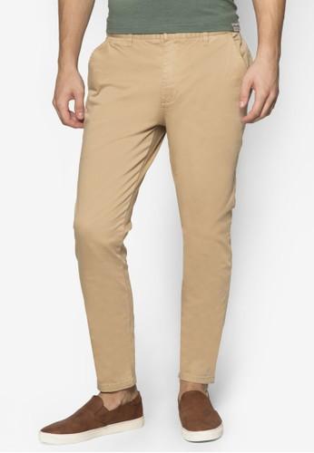 窄管彈性奇諾長褲, 服飾, zalora 包包評價服飾