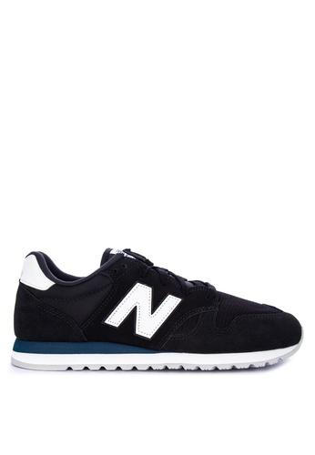 New Balance black U520 Lifestyle Sneakers D10E3SH07BCCE3GS_1