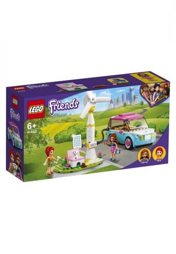 LEGO multi LEGO Friends 41443 Olivia's Electric Car (183 Pieces) F30DATH0EE7EEFGS_1