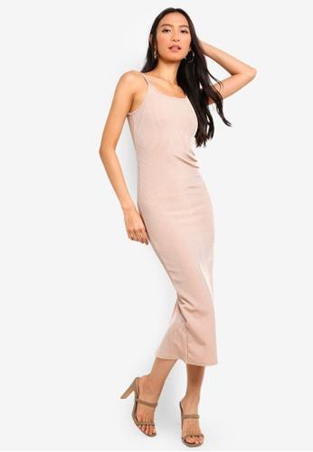 139fadef69c Buy TOPSHOP Ribbed Midi Bodycon Dress Online on ZALORA Singapore