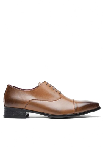 Twenty Eight Shoes Leather Classic Oxford KB3004-2 0FBD2SH83BBA87GS_1