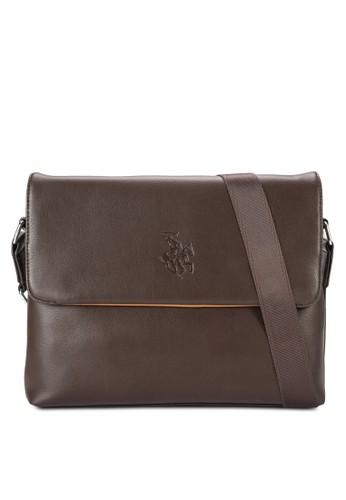 簡約翻蓋矩形郵差包,zalora taiwan 時尚購物網鞋子 包, 包
