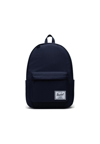 Herschel navy Herschel Classic XL Backpack - Peacoat EB994AC7D42D6EGS_1