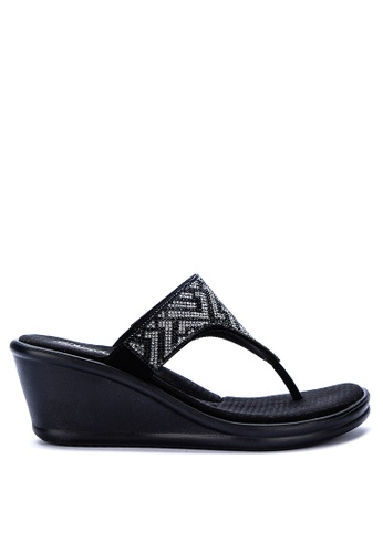 double coupon detailed pictures on sale online Rumblers Slide Wedges