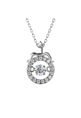 Her Jewellery 白色 Her Jewellery 12 Horoscope Pendant - SAGITTARIUS (White Gold) with Premium Grade Crystals from Austria镶嵌施华洛世奇水晶 43E69ACEE2BF8BGS_1