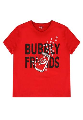 FOX Kids & Baby red Kids Girl Graphic Print Tee E83F3KA40FBB5AGS_1
