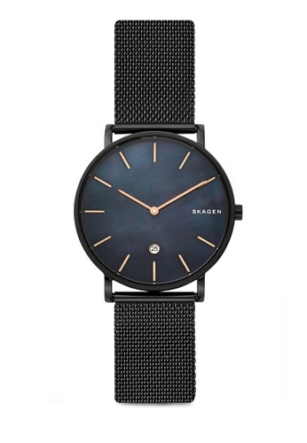 Skagen black Hagen Analog Watch SKW6472 1A6E4ACB2CEEFAGS_1