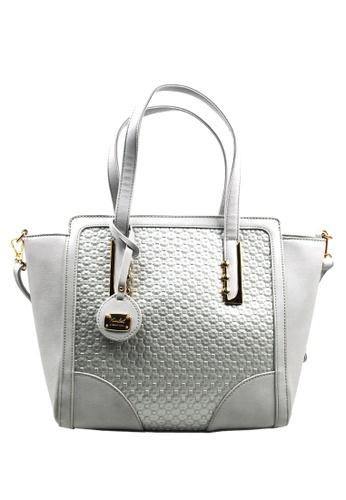 Kimbel International grey HGZ28081 Handbag with Sling KI262AC0J9X0PH_1