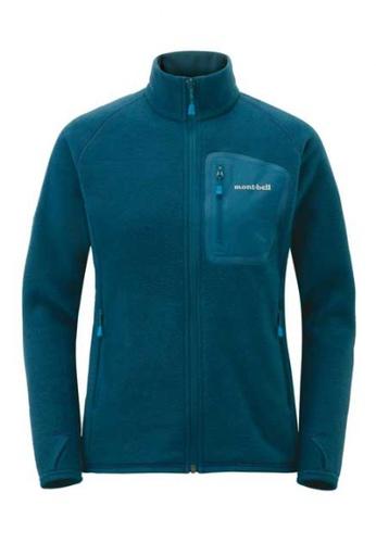 Montbell blue CLIMAPLUS 100 Jacket - Women E787AAAAC63E1AGS_1
