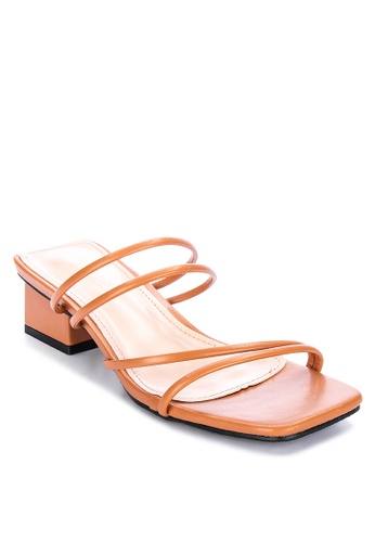 LND brown Catherine Heeled Sandals 10358SH501A6E8GS_1