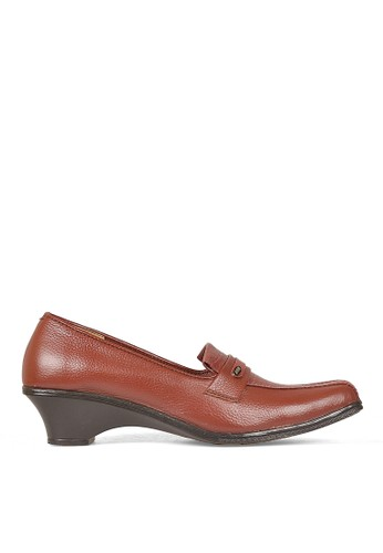 Cbr Six Women Bussiness Formal Shoes 027 (Brown)