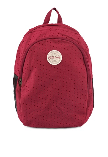 Billabong red Discovery Backpack 0D86DAC36A1A2BGS_1