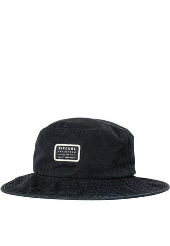 Rip Curl black Crusher Wide Brim Hat 0F36EACD72FE39GS_1