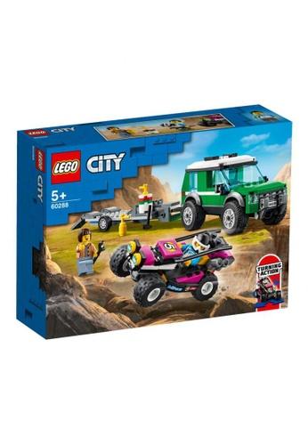 LEGO multi LEGO City Great Vehicles 60288 Race Buggy Transporter (210 Pieces) CC644THF5EFA41GS_1