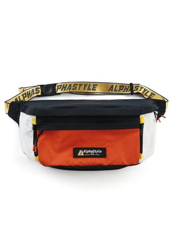 AlphaStyle orange Rio Classic Bumbag 89181AC4E9A954GS_1