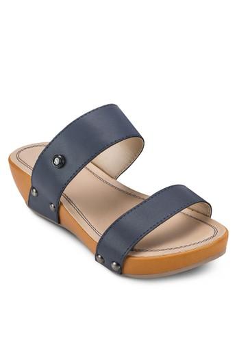 舒適楔型跟涼鞋尖沙咀 esprit outlet, 女鞋, 鞋