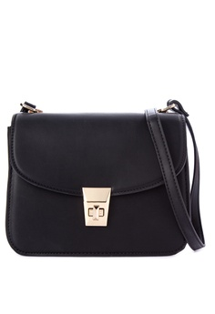 Mango black Pebbled Cross-Body Bag 44908AC8A59678GS_1